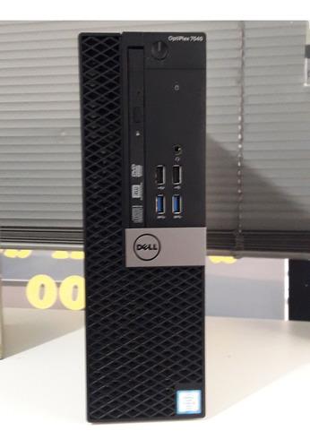 Cpu Dell Optiplex 7040 Core I5 6 Ger 8gb Ddr4 Hd 500gb