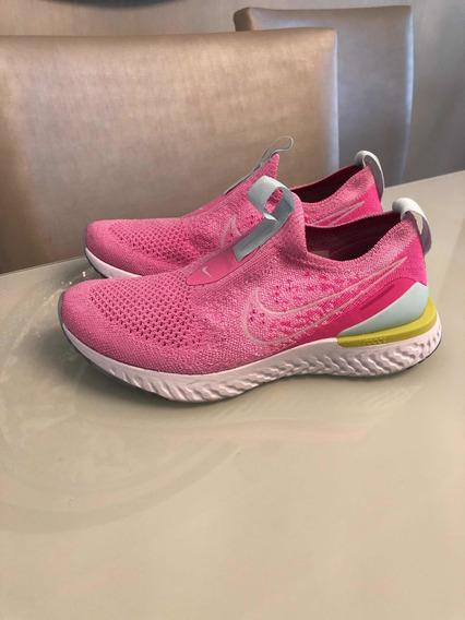 Tênis Nike Epic React Feminino - Rosa