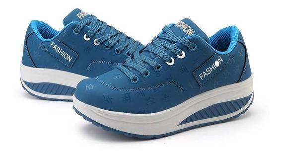 Tenis Sneakers Plataforma Oferta