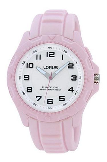 Reloj Lorus By Seiko R2379jx9 Rosa Mujer Analogico
