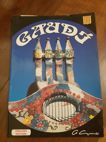 Livro Gaudi English Edition-a. Campana - Edicao Colecionador