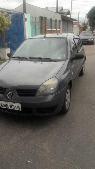 Renault Clio Cinza 1.0 16v 4 Portas Abaixo Da Tabela