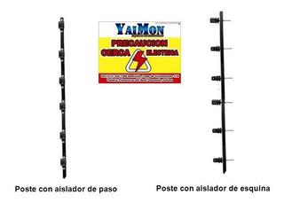 Postes Con Aislador Para Cerco Electrico