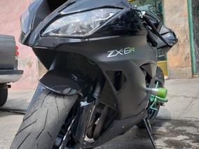 Kawasaki Zx6r 2015 Hecha Para Correr
