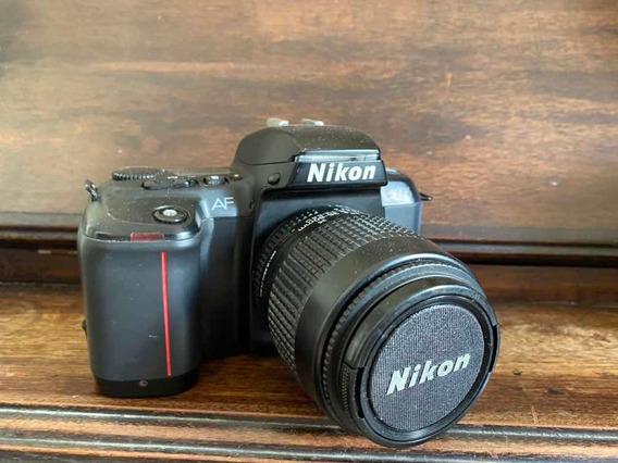 Nikon Filme Analógica Com Lente Original