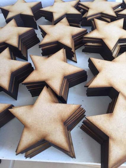 Estrellas Fibrofacil 3 Cm 100 Unidades