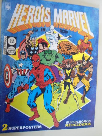 Herois Marvel Em Ação