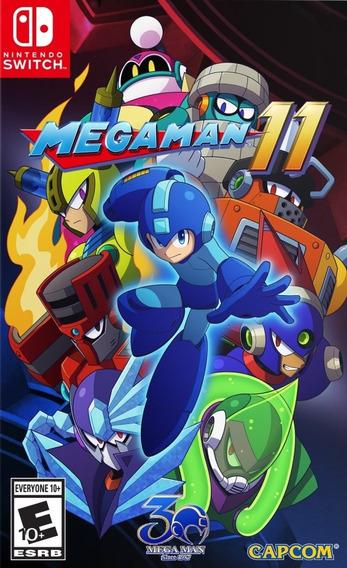 Mega Man 11 - Semi Novo - Fisica - Switch - Gamercado
