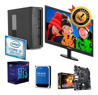 Pc Completa Monitor Intel 9va Plan Ahora18 Linux 1tb 4gb