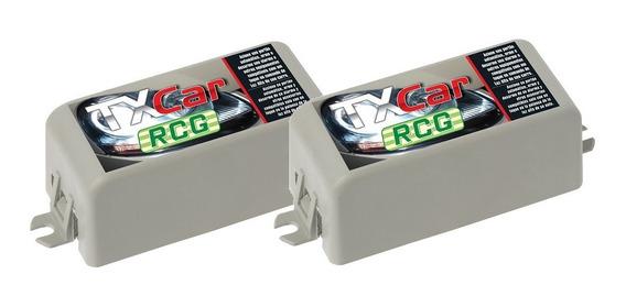 Kit 2 Controle Remoto Tx Car Rcg 433,92mhz Para Portão Farol