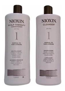 Nioxin #1 Shampoo Y Acondicionador Litro