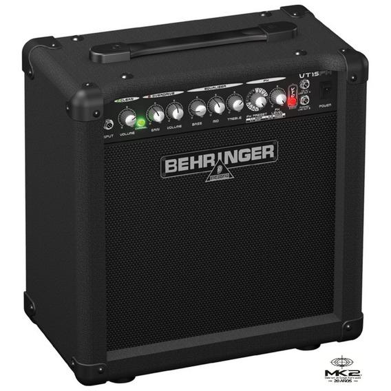 Amplificador Guitarra Behringer Virtube Vt15fx 15w Oferta!!!