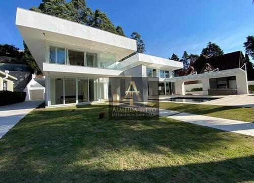 Belíssima Casa Á Venda No Residencial Tamboré 1 - Alphaville - Confira! - Ca2433
