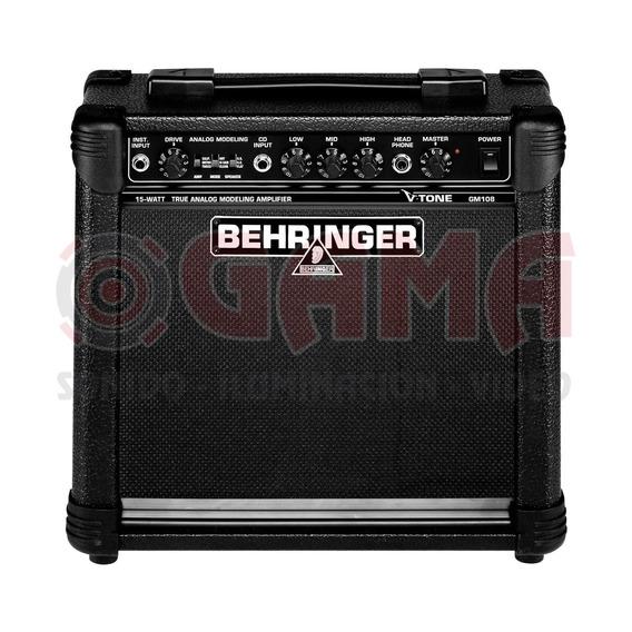 Combo Amplificador Guitarra 15w 8 V-tone Gm108 Behringer 1