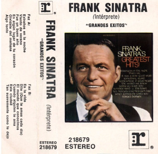 Frank Sinatra Grandes Exitos Cassette Original Nancy Sinatra