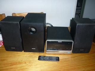 Equipo De Audio Música Philips Mcd 183/55 Completo