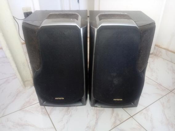 Caixas De Som Aiwa Modelo Zr-800