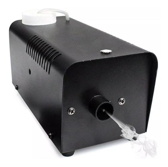 Maquina De Fumaça Luatek 600w + Controle Com Fio E Sem Fio