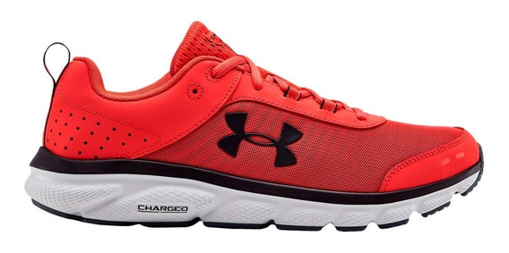 Zapatillas Under Armour Charged Assert 8 Roj/neg De Hombre