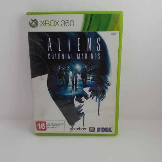 Jogo Aliens Colonial Marines Xbox 360 Semi Novo Testado