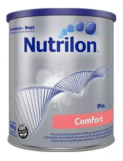 Leche de fórmula en polvo Nutricia Bagó Nutrilon Comfort en lata de 400g