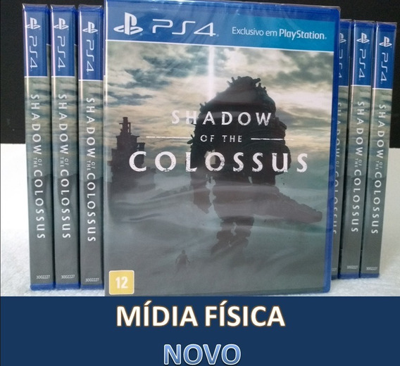 Shadow Of The Colossus - Ps4 - Mídia Física