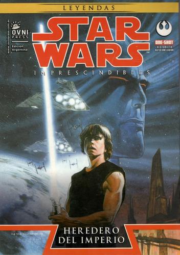 Imagen 1 de 3 de Libro: Star Wars Heredero Del Imperio One-shot / Mike Baron