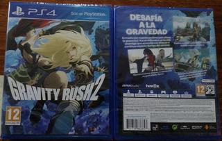 Gravity Rush 2 Ps4 Fisico Incluye Español Nuevo Sellado