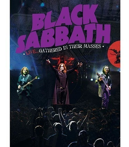 Black Sabbath - Live Gathered In Their Masses Dvd + Cd Ozzy