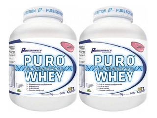 2 Und - Puro Whey 2kg - Performance Nutrition