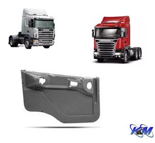 Forro De Porta Caminhão Scania Série 4 - 114 124 - Cinza