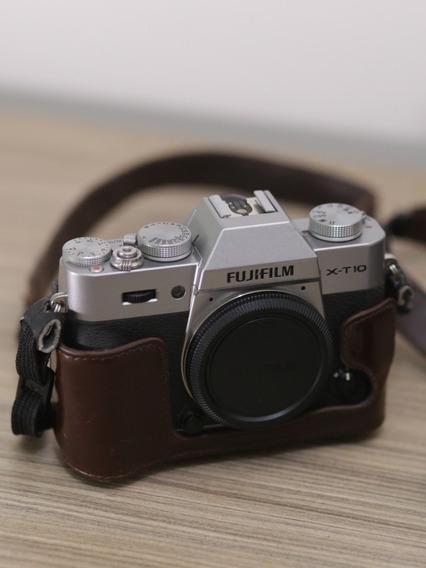 Câmera Fuji Xt10 Silver