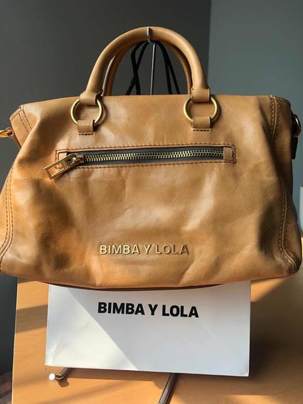 Bolsa Bimba Y Lola Piel Miel