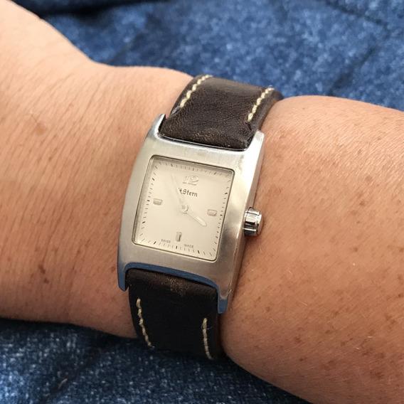 Relógio Mães Nivel Omega Swiss H Stern Em Safira Ela Merece!