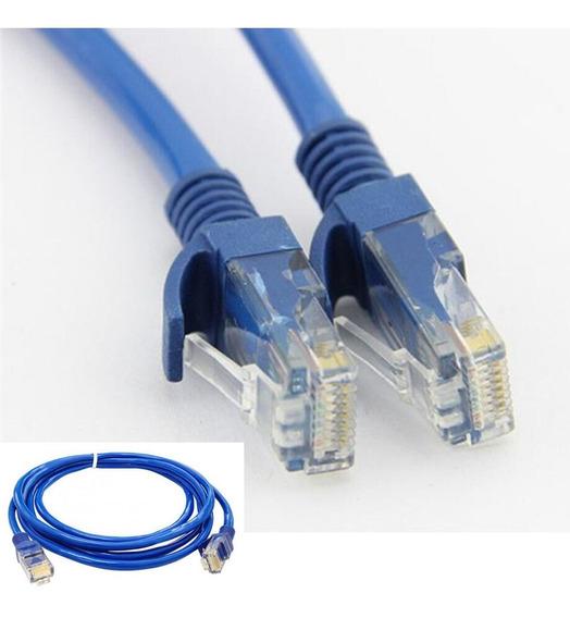 Cabo De Rede 1,5m Montado Rj45 Ethernet Cat5e Wi-fi/roteador