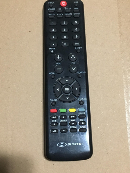 Controle Remoto Tv H-buster Lcd Led Htr-d19 Original 32d01hd