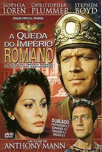 A Queda Do Império Romano Dublado Frete Grátis
