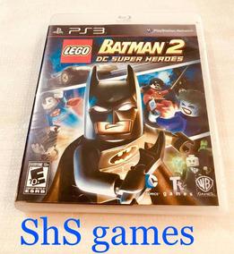 Lego Batman 2 Dc Super Heroes Ps3 Mídia Física