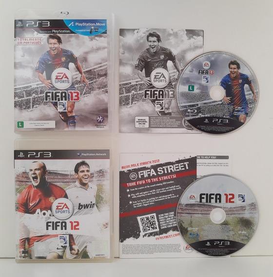 Fifa 12 E 13 Ps3 Mídia Física Usados Playstation 3 (2 Jogos)