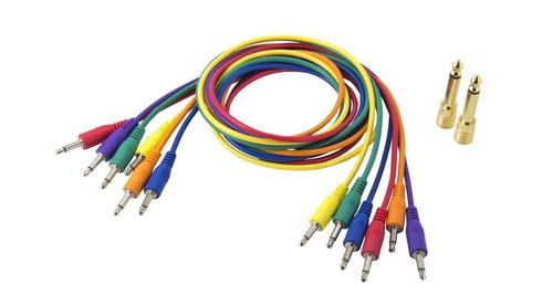 Korg Sq6 Cables Sincronizacion Cv Gate Sintes Eurorack 75 Cm