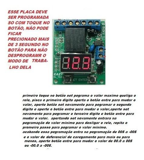 Automático Para Controlar Carga De Bateria Ou Sistema Solar