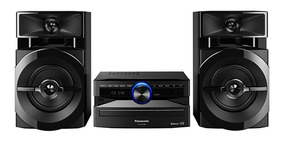 Mini System Panasonic 250w Bluetooth Cd Usb Sc-akx100lbk