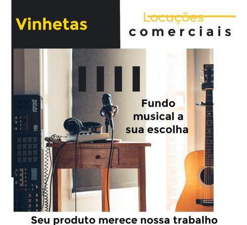 Imagem 1 de 1 de Locutor Profissional.  Vinhetas Para Carro De Som