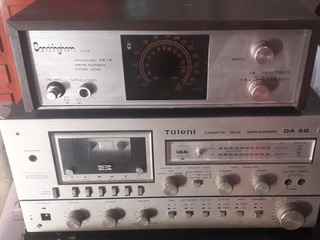 Amplificador Talent Da50 Y Radio Sandringham R-336