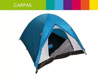 Carpa Hi Tec Dome - 3 Personas - Camping - Verano - Salas