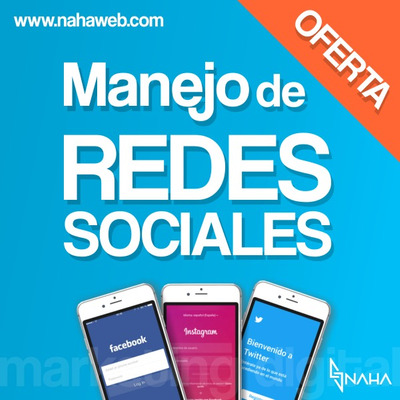 Manejo De Redes / Social Media / Community Manager / Diseño
