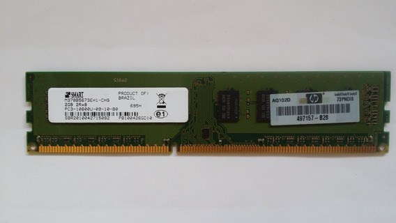 Memoria Ram Ddr3 1333hhz 2gb Pc Desktop Smart Hp 10 Unidades