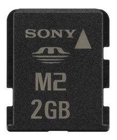 Cartão De Memória Sony M2 2gb - Kit 05 Un