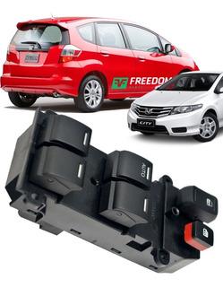 Botao Comando Interruptor Vidro Honda Crv New Fit City 2009/