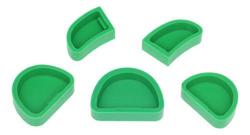 Imagen 1 de 6 de 5 Moldes De Silicona Para Laboratorio Dental.